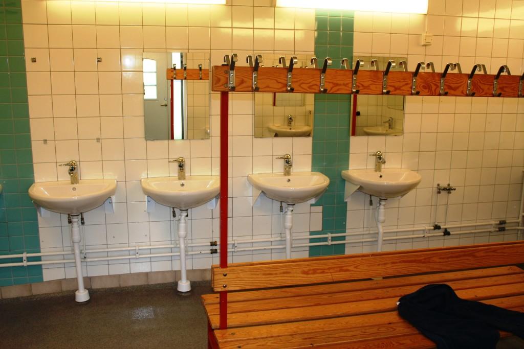 29 Tvättställ och dusch i servicehus