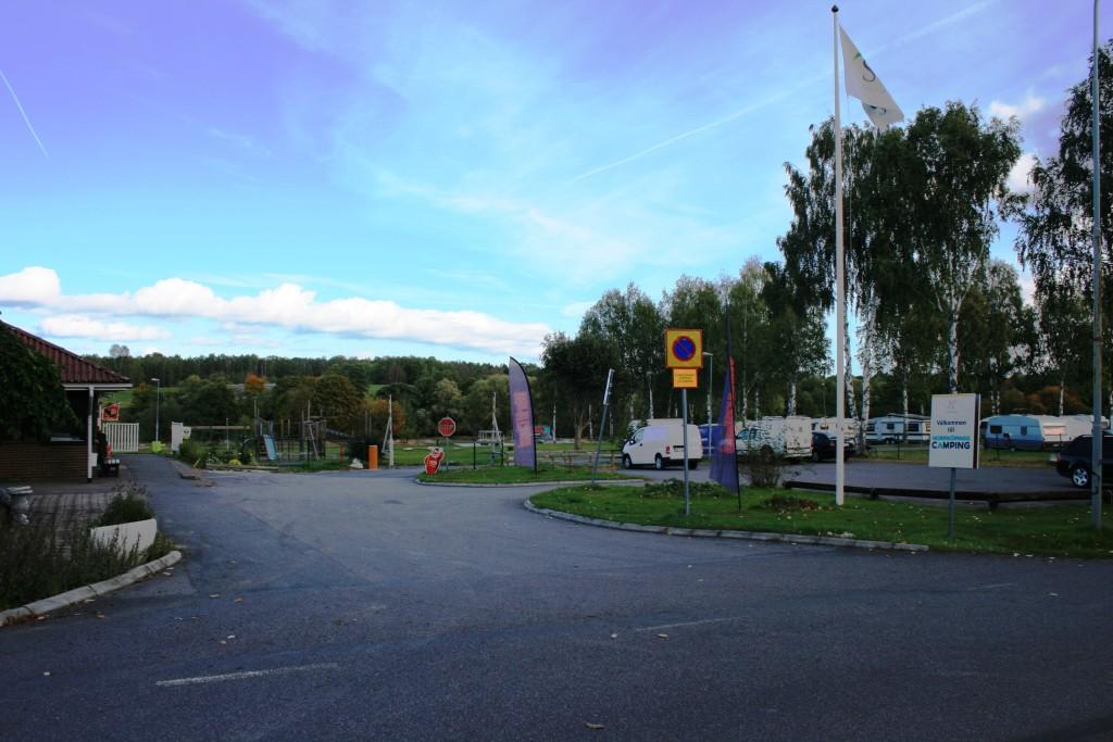 3 -Huvudinfart till Norrköpings Camping Himmelstalund