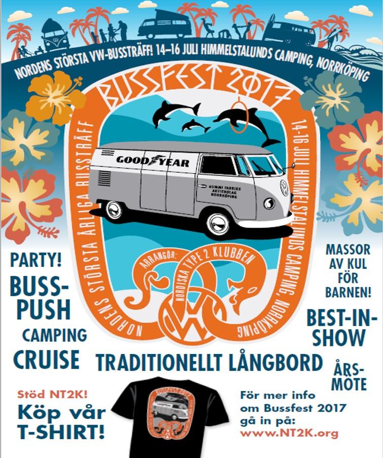 Poster Bussfest Svensk